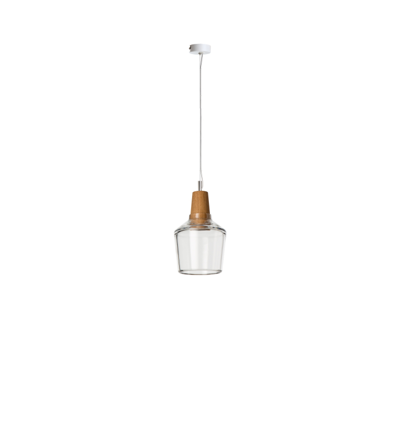 dreizehngrad pendant lamp model Industrial 15/16P clear glass lamp design lamp