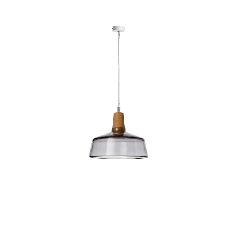 dreizehngrad pendant lamp model Industrial 26/14P anthracite glass lamp design lamp