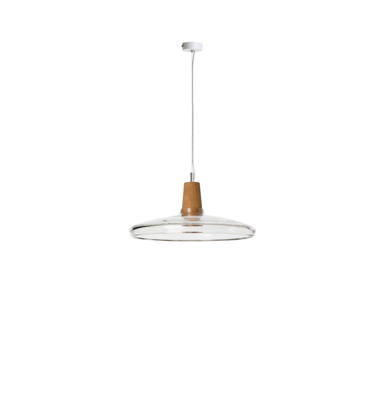 dreizehngrad pendant lamp model Industrial 36/08P clear glass lamp design lamp