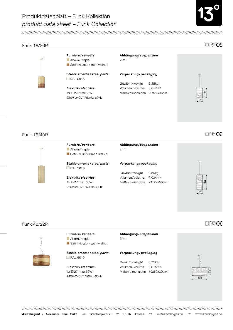 Download Produktdatenblatt Funk