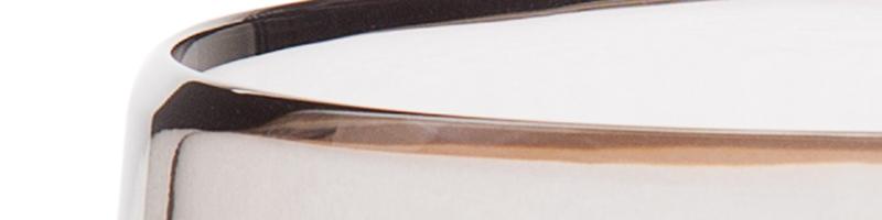 dreizehngrad Material Glas anthrazit Glasleuchte Kristallglas Designleuchte