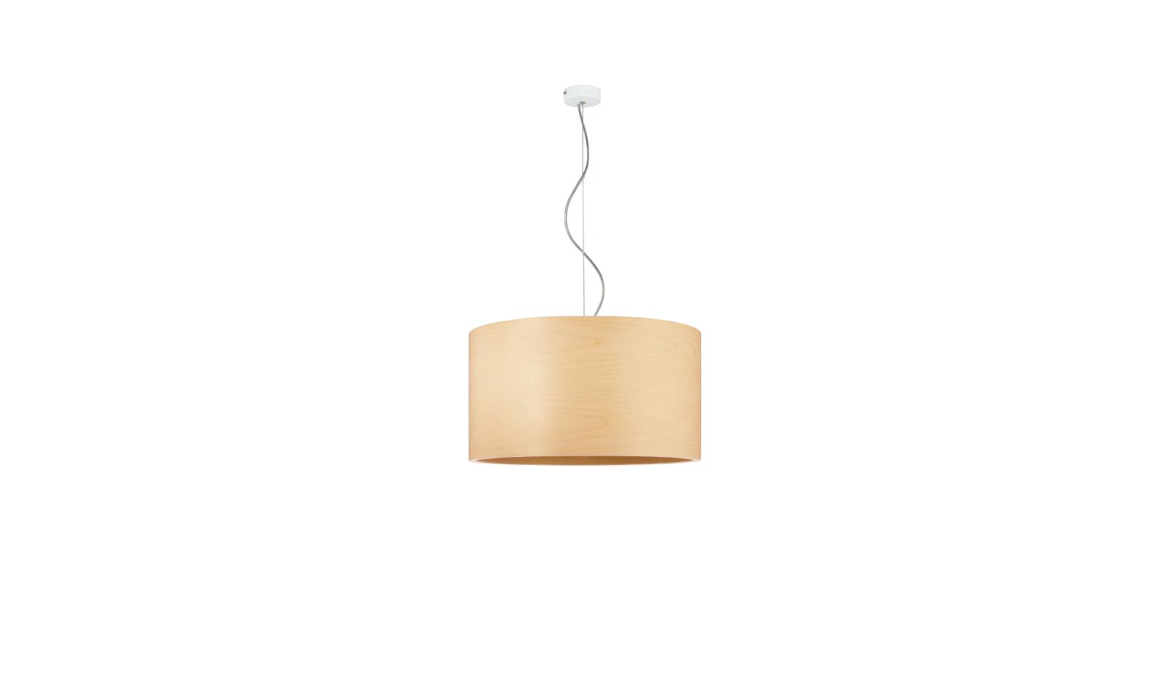 dreizehngrad pendant lamp model Funk 40/22P maple veneer lamp design lamp