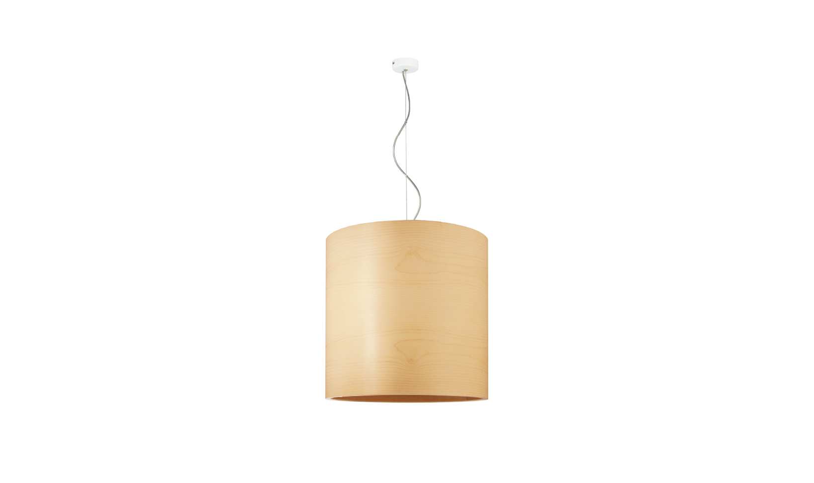 dreizehngrad pendant lamp model Funk 40/40P maple veneer lamp design lamp